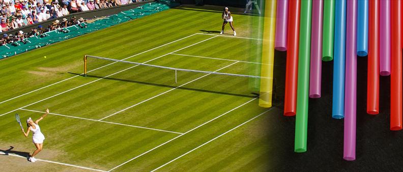 Tennis senza cannucce